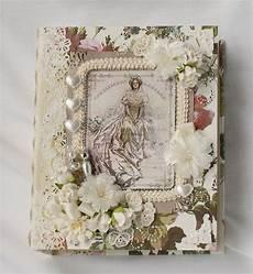 Handmade Vintage Sting Wedding Photo Album by Wedding Handmade Chipboard Scrapbook Photo Album