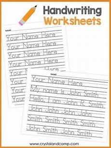 handwriting name worksheets for kindergarten 21509 handwriting worksheets for you can customize and edit crystalandcomp