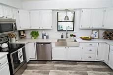 Kitchen Unit Makeover Paint by How To Paint Kitchen Cabinets Without Sanding Or Priming