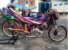 Modifikasi Motor Satria Fu 2018 by Kumpulan Foto Modifikasi Motor Satria Fu Terbaru 2018