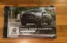 old car owners manuals 1993 dodge ram wagon b350 security system 2020 dodge ram 1500 classic owners manual pickup truck v6 3 6l v8 5 7l 4wd rwd ebay