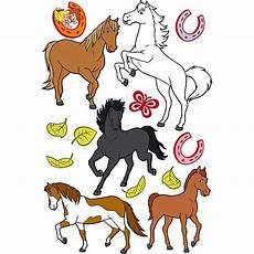 Ausmalbilder Bibi Und Tina Pferde Wandtattoo Bibi Und Tina Pferde 14 Tlg Bibi Und Tina