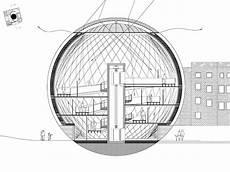 spherical art gallery architect magazine