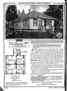 sears kit house plans the rosita sears quot honor bilt quot kit house 1922 really