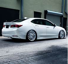 acura tlx vossen vfs2 silver polished