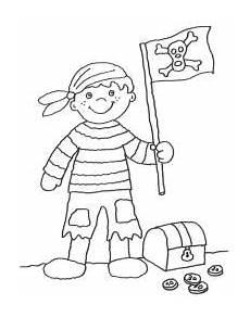 kostenlose ausmalbilder und malvorlagen piraten zum