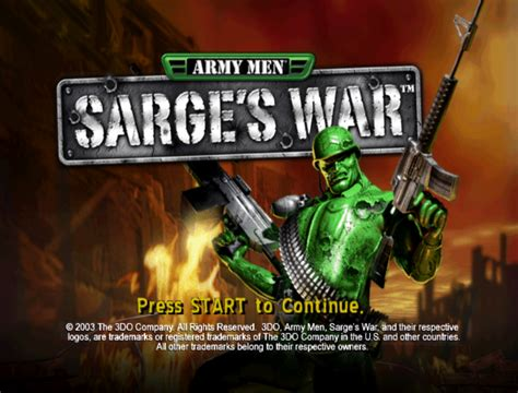 Army Men Of War