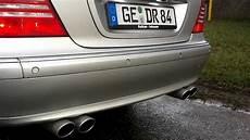 mercedes s500 s 500 amg eisenmann auspuffanlage