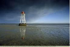 Leuchtfeuer Im Watt Insel Pellworm Schleswig Holstein