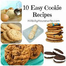 easy cookie recipes hillbilly housewife