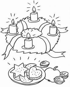 Malvorlagen Weihnachten Adventskranz Advent Adventskranz Zum Ausmalen Weihnachtsmalvorlagen