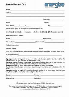 parental medical consent form template 50 printable parental consent form templates ᐅ templatelab