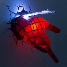 marvel 3d wall led light spider man in 2019