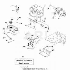 poulan po17542lt 96012012001 2011 08 parts diagram for engine