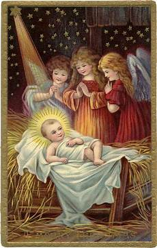 8 vintage christmas nativity images the graphics