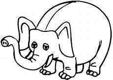 coloring elephant image color elephant draw