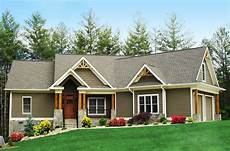 craftman house plans craftsman inspired ranch home plan 15883ge