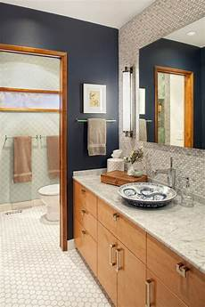 Oak Cabinet Bathroom Ideas by Color Study Blue Hues Evolution Of Style