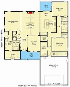 country craftsman house plans country craftsman house plan with vaulted family room