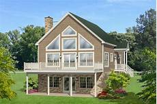 a frame house plans with walkout basement 4 bedroom vacation house plan with walk basement in 2020