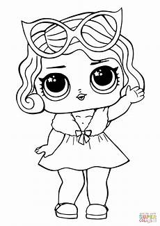 lol doll leading baby coloring page free printable