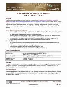genetics and probability worksheet free printables worksheet