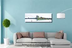 tableaux modernes pour salon tableau blanc ville grand panoramique abstrait
