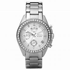 shop fossil s es2681 decker stainless steel