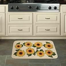 Walmart Kitchen Decor by Mainstays Sunflower Kitchen Mat 18 Quot X 30 Quot Walmart