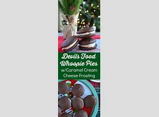 devils food drop cookies  with cream cheese frosting_image