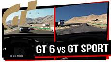 gran turismo 6 vs gt sport ps3 vs ps4