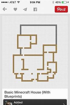 minecraft modern house floor plans floor plan maison minecraft