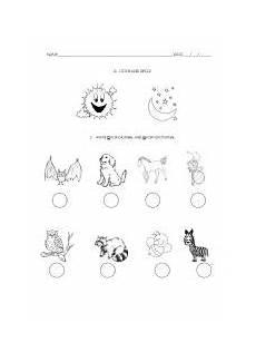 nocturnal animals worksheets 13983 18 best images of day and animals worksheet nocturnal animals worksheet endangered