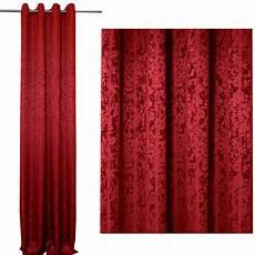 vorhang rot vorhang meliert 214 sen rot 140x245 cm blickdicht