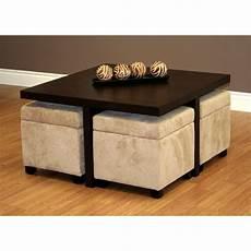 table basse pouf intégré table basse avec pouf int 233 gr 233 le bois chez vous