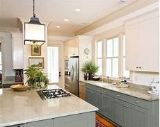 paint kitchen cabinets two colors can you paint kitchen cabinets two colors in a small kitchen the decorologist