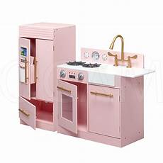 Luxury Kitchen Play Set by Kitchen Modern Luxury Wooden Play Set In Pink And