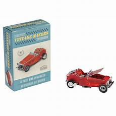 make your own wind up vintage racing car rex london dotcomgiftshop