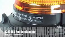 b310 series led rundumleuchte gelb ece r65