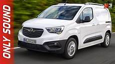New Opel Combo Cargo 2019 Test Only Sound