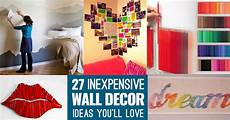 Wall Cheap Diy Home Decor Ideas Diy by Cool Cheap But Cool Diy Wall Ideas For Your Walls