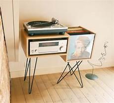 meuble platine vinyle vintage 40 meubles pour ranger des vinyles