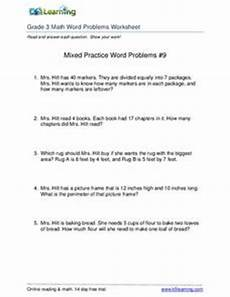 area word problems worksheets 4th grade 11456 mixed practice word problems 9 worksheet for 2nd 4th grade lesson planet