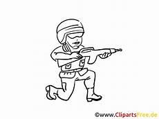 ausmalbild soldat milit 228 r gratis