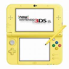 nintendo 3ds console new nintendo 3ds ll xl console pikachu yellow