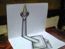 Menggambar Monas 3d Dengan Pensill Warna By 1