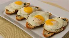 homemade breakfast bruschetta recipe laura vitale laura in the kitchen episode 427 youtube