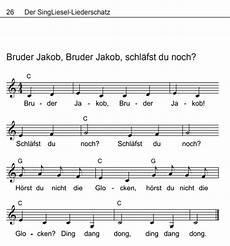 volkslieder mit noten bruder jakob bruder jakob