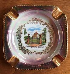 vintage porcelain ashtray gerold porzellan bavaria west