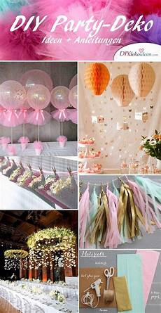 Ideen Für Geburtstagsparty - diy deko ideen zum selbermachen diy deko ideen